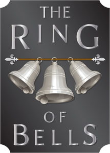 Logo of The Ring of Bells pub, Bishopsteignton