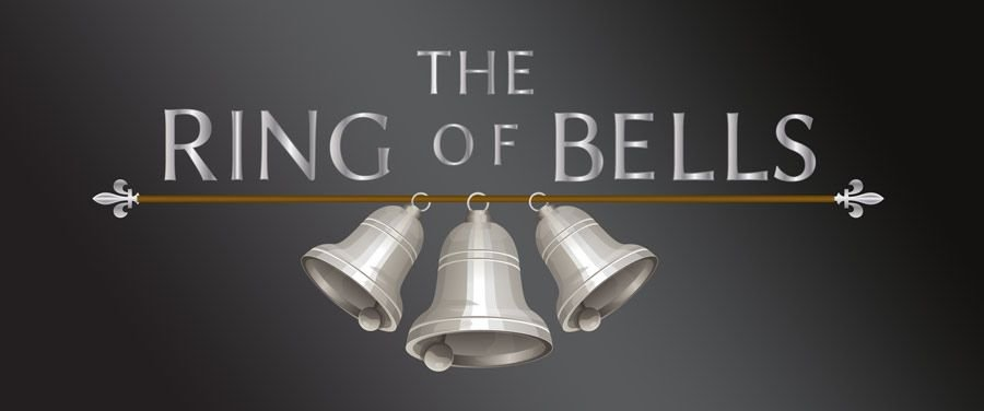 Landscape logo of The Ring of Bells pub, Bishopsteignton